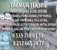 İstanbul top kumaş alınır